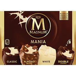 Magnum Magnum Glace assortiment Mania la boite de 8 - 626 g