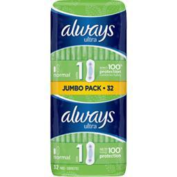 Ultra - normal t1 - serviettes hygiéniques