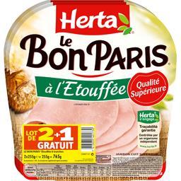 Le Bon Paris - Jambon cuit à l'Etouffée