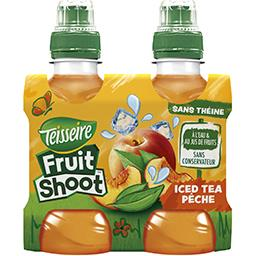 Fruit Shoot - Boisson Iced Tea pêche