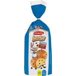 Brioches Moov! aux pépites de chocolat au lait