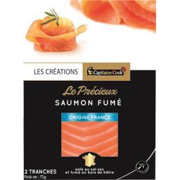 Le Précieux saumon fumé