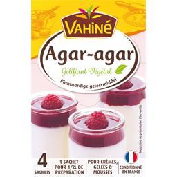 Vahiné Vahiné Gélifiant végétal Agar-agar les 4 sachets de 2 g