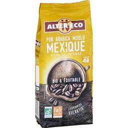 Café moulu pur arabica Mexique BIO