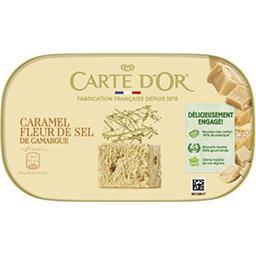 Carte d'Or Carte d'Or Glace caramel à la fleur de sel Le bac de 900ml