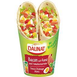 Daunat Daunat Be Wrappy ! - Sandwich bacon grillé le paquet de 2 - 190 g
