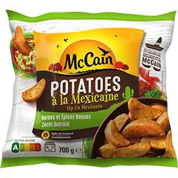 Potatoes à la mexicaine