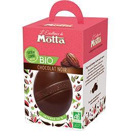 Motta Œuf chocolat noir BIO 74% cacao la boite de 125 g