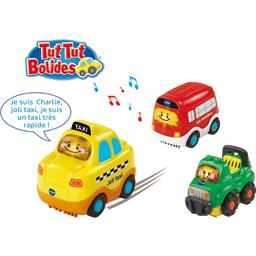 Tut Tut Bolides - Coffret Trio City