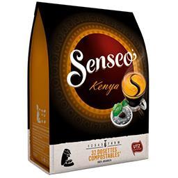 Maison du Café Senseo Dosettes de café Kenya le paquet de 32 - 222 g