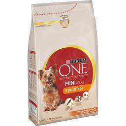 Purina One Purina One Croquettes Senior riches en poulet pour chien mini le sac de 1,5 kg