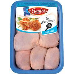 Haut de cuisse de poulet blanc