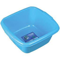 Bassine carrée bleue 7 L