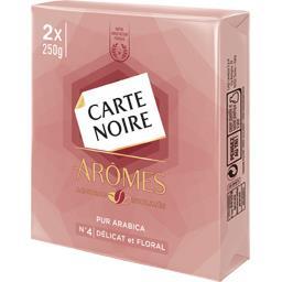 Carte Noire Café moulu Arômes n°4 délicat et floral