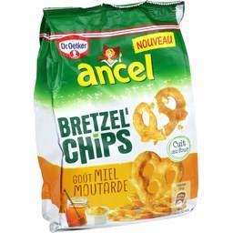 Bretzel'Chips - Biscuits apéritif goût miel moutarde