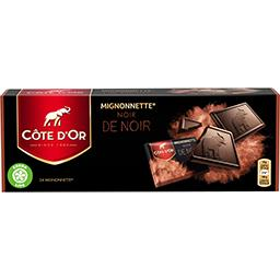 Côte d'Or Côte d'Or Mignonnette Noir de Noir la boite de 24 mignonnettes - 240 g