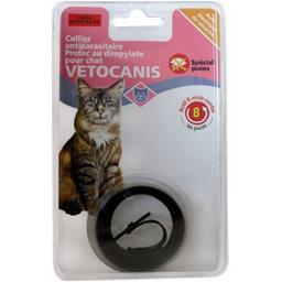 Collier dimpylate chat protec anti-parasite, noir