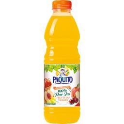 Paquito Jus de 4 fruits du verger la bouteille de 1 l