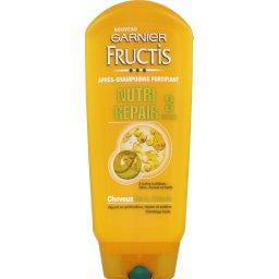 Après-shampooing fortifiant, 3 huiles, cheveux secs, abîmés