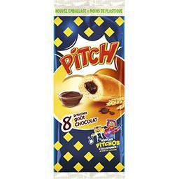 Pasquier Brioche Pasquier Pitch - Brioches goût chocolat les 8 brioches de 38,75 g