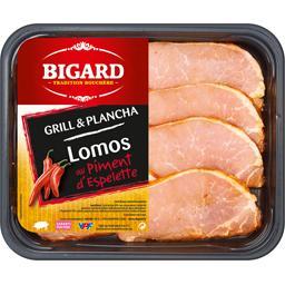 Lomo de porc au piment d'espelette