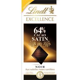 Excellence - Chocolat noir 64% cacao satin aux subtiles notes vanillées