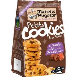 Petits Cookies au chocolat au lait et au chocolat no...