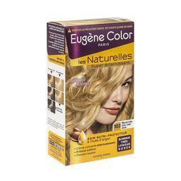 Eugène Color Eugène Color Les Naturelles - Coloration éclaircissante blond très très clair doré 103 la boite de 115 ml