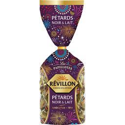Révillon Révillon Chocolatier Les Papillotes - Assortiment de chocolats Pétards noir & lait le sachet de 365 g
