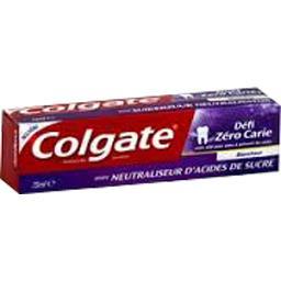 Colgate Colgate Défi Zéro Caries - Dentifrice Blancheur le tube de 75 ml