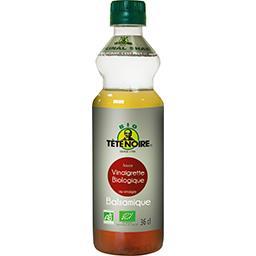 Tête Noire Sauce vinaigrette au vinaigre balsamique BIO la bouteille de 36 cl