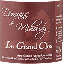 Anjou Le Grand Clos - Domaine Mihoudy vin Rouge 2017