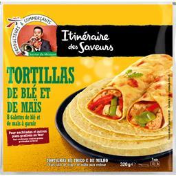 Saveur du Mexique - Tortillas de blé et de maïs à ga...