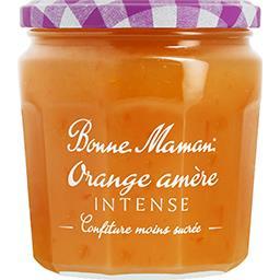 Bonne Maman Bonne Maman Confiture orange amère intense le pot de 335 g