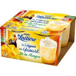 Le Liégeois au yaourt lit de mangue
