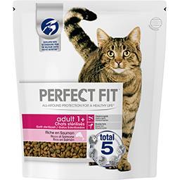 Perfect Fit Perfect fit Croquettes riche en saumon Adult 1+ pour chats stérilisés le sac de 1,4 kg