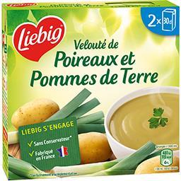 Liebig Liebig Velouté de poireaux et pommes de terre les 2 briques de 30 cl