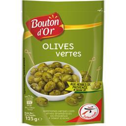 Olives vertes aux herbes de Provence et saveur ail