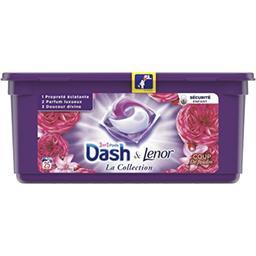 Dash Dash Capsules 3en1 coup de foudre La boite de 25capsules