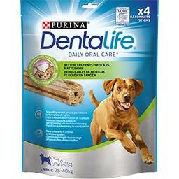 Purina One Purina Bâtonnets Dentalife pour chien Large 25-40 kg le sachet de 142 g