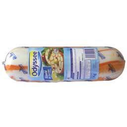 Roulé de surimi, saveur crabe