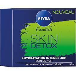Nivea Nivea Essentials - Soin de nuit Skin Detox le pot de 50 ml