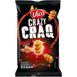 Crazy Craq - Biscuits apéritif cacahuète Addict