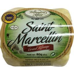 Fromagerie Alpine Saint-Marcellin les 3 fromages de 80 g