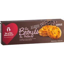 Galettes Les Broyés du Poitou aux pépites de chocolat