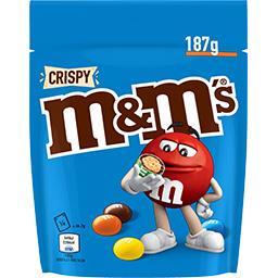 M&M's M&M's Bonbons chocolat Crispy la poche de 187 g