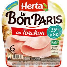 Le Bon Paris - Jambon au torchon sel réduit