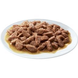Pâtée pour chat 1+ an en sauce aux viandes