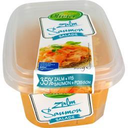 Maître Olivier Salade de saumon la barquette de 250 g