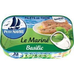 Filets de thon Le Mariné basilic